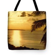 Pohnpei Sunset  Tote Bag