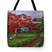 Poinciana Blvd Tote Bag