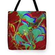 Poinciana Flower 9 Tote Bag