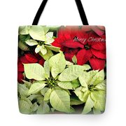 Poinsetta Mix Tote Bag
