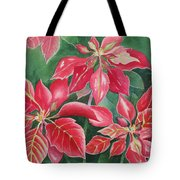 Poinsettia Magic Tote Bag
