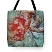 Poinsettias Combination  Id 16099-024213-41650 Tote Bag