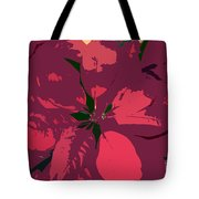 Poinsettias Work Number 4 Tote Bag