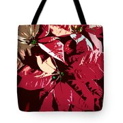 Poinsettia's Work Number 7 Tote Bag