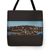 Point Allerton From Fort Revere Tote Bag