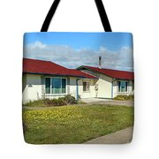 Point Arena Lighthouse Keeper's Houses Lodging Tote Bag
