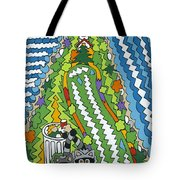 Point Arena Lighthouse Tote Bag by Rojax Art