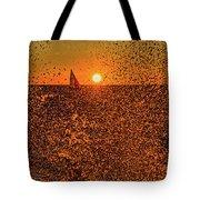 Point Betsie Light Tote Bag