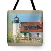 Point Betsie Lighthouse Tote Bag