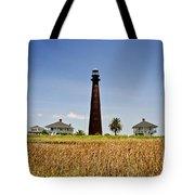 Point Bolivar Lighthouse Tote Bag
