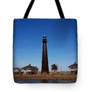 Point Bolivar Lighthouse Tx Tote Bag