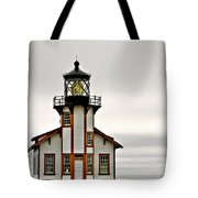 Point Cabrillo Lighthouse California Tote Bag