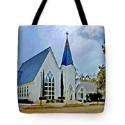 Point Clear Alabama St. Francis Church Tote Bag