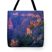 Point Imperial Sunrise 1-sq Tote Bag