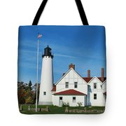 Point Iroquois Tote Bag