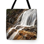 Point Lace Falls 1 Tote Bag
