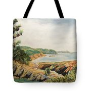 Point Lobos Tote Bag by Don Perino