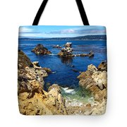 Point Lobos Whalers Cove- Seascape Art Tote Bag