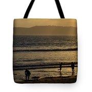 Point Loma California Surfers Tote Bag