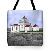 Point No Point Lighthouse Tote Bag