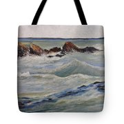 Point Of Action Tote Bag