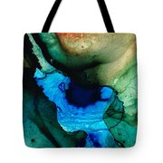 Point Of Power - Abstract Painting By Sharon Cummings Tote Bag