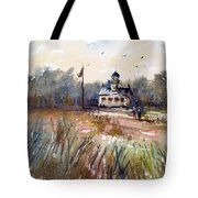 Point Pinos Lighthouse Tote Bag
