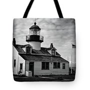 Point Pinos Pacific Grove Lighthouse Tote Bag