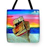 Point Reyes Wreck D2 Tote Bag