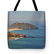 Point Sur Lighthouse On Central California's Coast - Big Sur California Tote Bag
