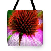 Pointed Flower Tote Bag