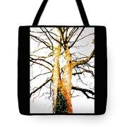 Pointillised Tree Tote Bag
