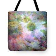 Pointillism Coneflowers 3571 Idp_3 Tote Bag