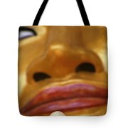 Pointing Buddha Tote Bag