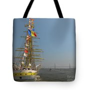 Pointing North Tote Bag