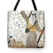 Pointing To The Star Tote Bag