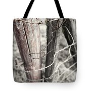 Points And Posts Tote Bag