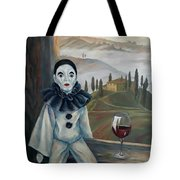 Poirrot In Tuscany Tote Bag