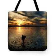 Poised For Action Tote Bag