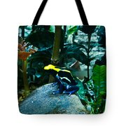 Poison Dart Frog Poised For Leap Tote Bag