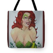 Poison Ivy Tote Bag by Leida Nogueira