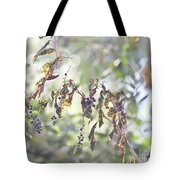 Pokeberry Light Tote Bag