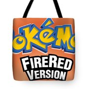 Pokemon Fire Red Emulator Tote Bag