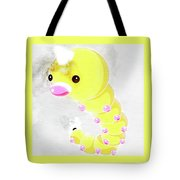 Pokemon Weedle Abstract Portrait - By Diana Van Tote Bag