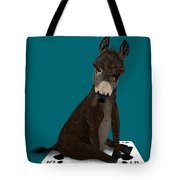 Poker Donkey Tote Bag