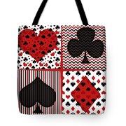 Poker In Four Tote Bag