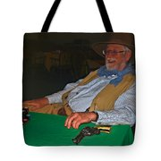 Poker Player Tote Bag