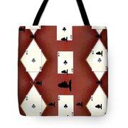 Poker Sharks Tote Bag
