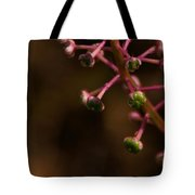 Pokeweed Emerges Tote Bag