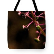 Pokeweed Emerges - Wc Tote Bag